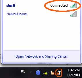 اتصال مودم به کامپیوتر
