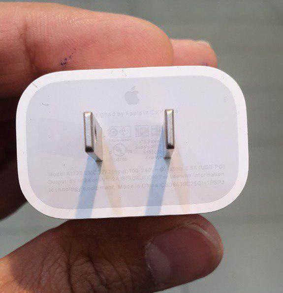 شارژر 18 وات اپل